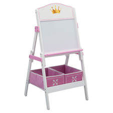 Delta Children Princess Crown Activity Easel with Storage Bins