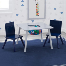 Delta Children Kids' Storage Table & Chairs Set
