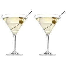 Tasting Hour Martini Glasses (Set of 2)