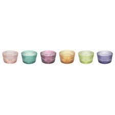 6 Piece Speedy Glass Dessert Bowl Set