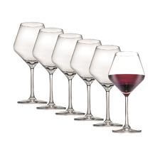Tasting Hour Pinot 545ml Wine Glasses (Set of 6)