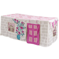 Home Sweet Home Cotton-Blend Table Tent Cubby House