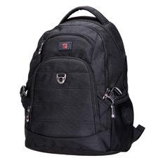 46cm Black Swiss Travel Backpack