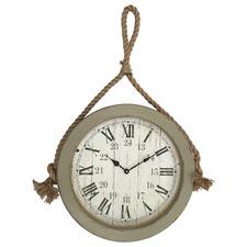 54cm Nautical Rope Wall Clock