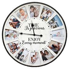 80cm Time Is Precious Wall Clock