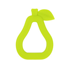 Pear Silicone Teether