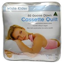Cassette 80% Goose Down Winter Quilt