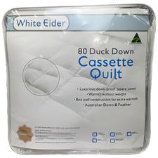 Cassette 80% Duck Down Winter Quilt