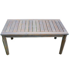 Paradise Eucalyptus Wood Outdoor Coffee Table