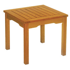 Natural Everton Acacia Wood Outdoor Side Table