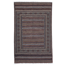 Mushwani Hand-Knotted Wool Rug