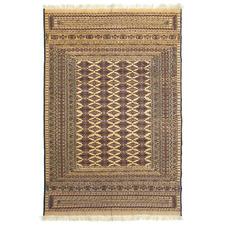 Harel Hand-Knotted Wool-Blend Kilim Rug