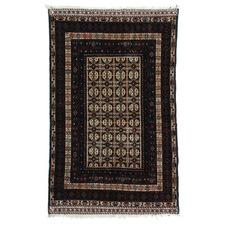 Vintage Style Maliki Octavio Hand-Knotted Wool Balouchi Rug