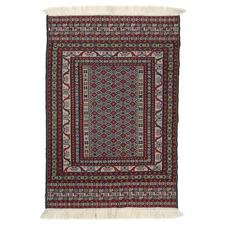 Vintage Style Maliki Oburu Hand-Woven Wool-Blend Kilim Rug
