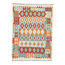 Afsoon Hand Woven Lambswool Kilim Rug