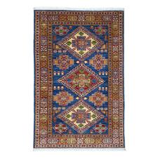 Mahvash Kazak Hand-Knotted Wool Chobi Rug