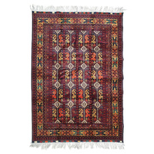 Lila Ala Makhmal Hand-Knotted Lambswool Rug