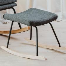 Sand Grey Quax Upholstered Rocking Footrest