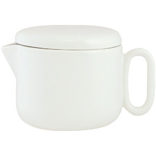 White Celine Every Day 550ml New Bone China Teapot