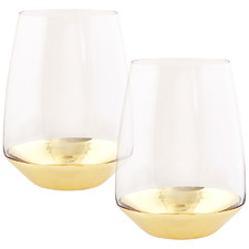 Estelle 550ml Crystal Tumblers (Set of 2)
