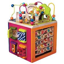 Kids' Zany Zoo Activity Cube