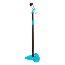 Kids' Microphone with Light-Up Stand