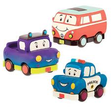 Kids' 3 Piece Mini Wheels Van & Cars Set