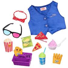 Kids' Cinema Snacks Doll Set
