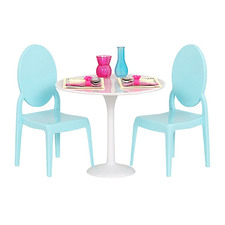 Kids' Table For Two Doll Set