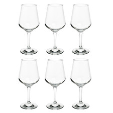 Reagan 380ml Polycarbonate Red Wine Glasses (Set of 6)