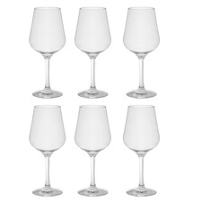 Davis 450ml Polycarbonate Red Wine Glasses (Set of 6)