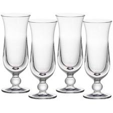 Rowan 390ml Polycarbonate Hurricane Glasses (Set of 4)