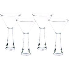Madison 310ml Polycarbonate Martini Glasses (Set of 4)