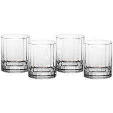 Orlando Bamboo 260ml Polycarbonate Rocks Glasses (Set of 4)