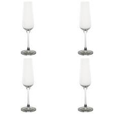 215ml Elegant Champagne Glasses (Set of 4)
