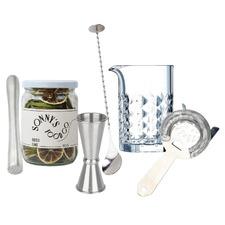 Just Stirring Polycarbonate Barware Kit
