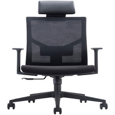 London Mesh Back Office Chair with Headrest