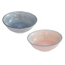 2 Piece 19.5cm Porcelain Bowl Set