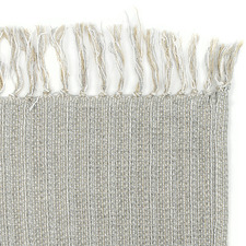 Soft Hand-Woven Recycled Cotton Throw Rug
