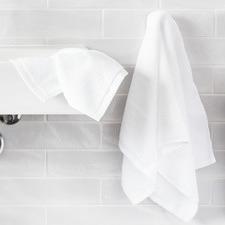 White Luxury Cothon Bathroom Towel