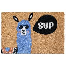 Sup Llama Coir Doormat