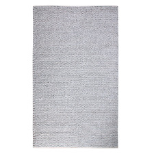 Grey Derby Braided Cotton & Wool Rug