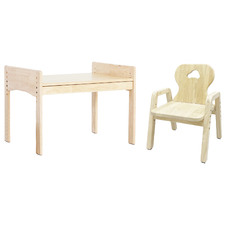 Bunnytickles Kids' Car 1 Drawer Table with Chair Set