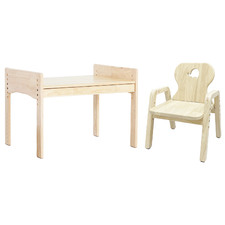 Bunnytickles Kids' Elephant 1 Drawer Table with Chair Set