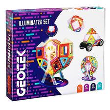 Kids' 57 Piece 3D Illuminatek Magnetic Construction Set