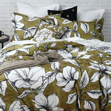 Hally Cotton Quilt Cover Set