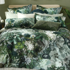 Multi-Coloured Florian Cotton Quilt Cover Set