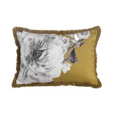 Yellow Reine Cotton Cushion
