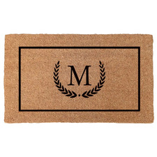Initial Personalised Coir Doormat