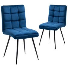 Penrose Velvet Dining Chairs (Set of 2)